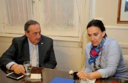 Tandil: El intendente Lunghi recibió a la vicepresidenta Gabriela Michetti