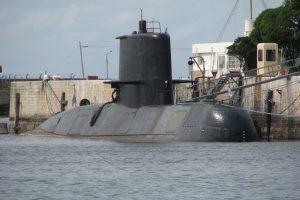 Se extravió submarino de la Armada con base en Mar del Plata