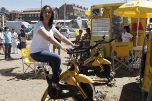 Glamour de verano: ola amarilla por ola naranja