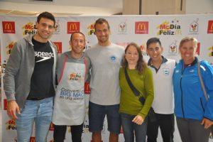 Destacados deportistas, solidarios con el McDia Feliz en Mar del Plata