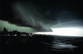 Mar del Plata con elevada temperatura: hierve un combo de frentes abiertos