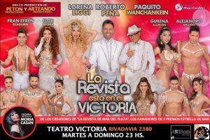 """Estrena hoy """"La Revista está en el Victoria"""""""
