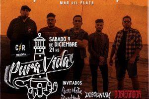 Pura Vida presenta su nuevo video en Casa Rock