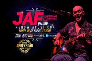 JAF en Abbey Road, show intimo y acústico
