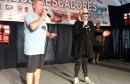 Carmen Barbieri visito la XXXVI Fiesta Nacional De Los Pescadores