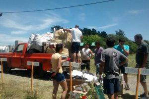 Vecinos del barrio Graduados gestionaron con el Municipio la recolección de materiales reciclables
