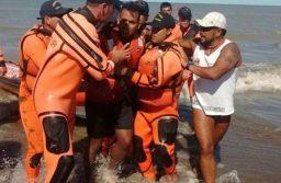 """Relato de un náufrago: """"Me pasó por irresponsable"""", dijo el joven que salió a navegar en kayak y estuvo dos días a la deriva"""