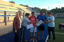 """Reconocimiento a """"Los leones"""",  Selección Argentina de Hockey Masculino"""