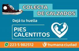 """Campaña solidaria de recolección de calzados """"DEJÁ TU HUELLA"""""""