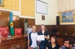 Se entregaron certificados de capacitación al nuevo personal de planta política del Honorable Concejo Deliberante