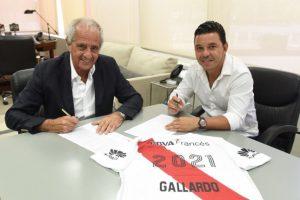 Gallardo renovó por U$S 24.000.000 y ponen en jaque la gestión D`Onofrio