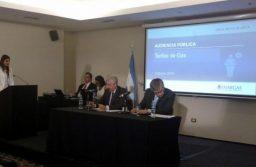 El Municipio volvió a pedir la recategorización del gas en la Audiencia Pública realizada en Bahía Blanca