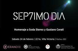 Actividades de este sábado: la música de Cerati y Soda Stereo sonará en Villa Victoria