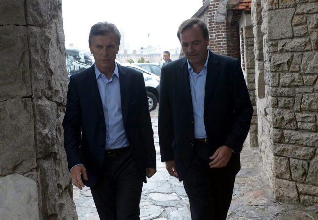 El diputado Aicega, informó sobre política local al presidente Macri en Chapadamalal