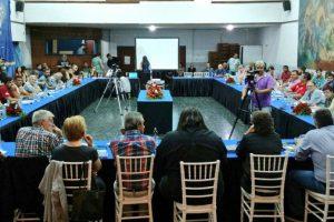 Referentes sindicales se juntaron en Mar del Plata y denunciaron persecución del gobierno