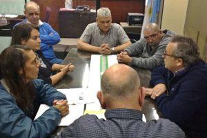 Cambareri analizó los recorridos de colectivos con vecinos de Lomas del Golf