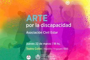 Arte por la discapacidad en el Colón
