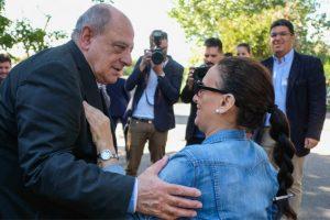 Arroyo y Michetti participaron del aniversario del Inareps