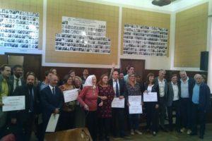 Se realizó otra edición de entrega de las menciones Voces de la Memoria, a 42 años del golpe de Estado