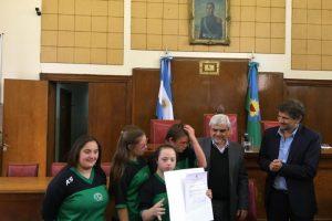 """El HCD declaró """"De Interés"""" la participación de cuatro jóvenes down en el Mundial de Natación"""