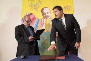 El intendente Arroyo puso en funciones a Andueza como Secretario de Tecnología e Innovación