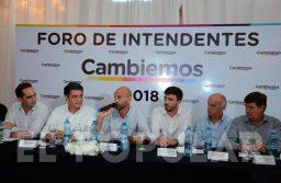 Unos 60 intendentes participaron del Foro de Cambiemos en Olavarría