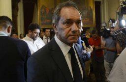Debate sobre tarifas en la cámara de Diputados. Daniel Scioli Fotos Emmanuel Fernández