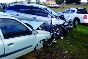 Tragedia con ciclistas en la 226: 2 muertos y cinco heridos