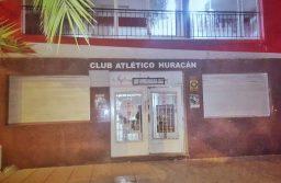 Clausuraron la sede del Club Huracán por una fiesta clandestina
