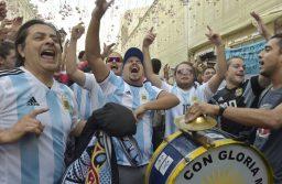 Locales: 50 mil argentinos coparán Moscú durante el Mundial