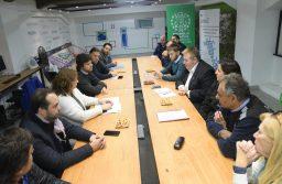 El Municipio realizó la primera Mesa de Comercio Exterior y Logística