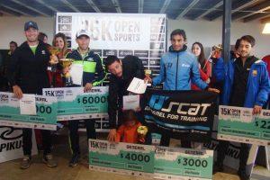 15 km Open Sports: Mastromarino y Cejas, los dueños de la Etapa Rural
