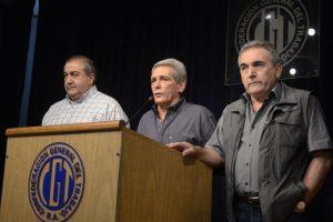 """La CGT rechazó el acuerdo con el FMI, amenazó con revueltas y aseguró que """"el conflicto será infinito"""""""