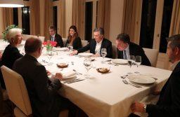 """Macri cenó con la titular del FMI y recibió su apoyo: """"Fue una reunión muy productiva"""""""