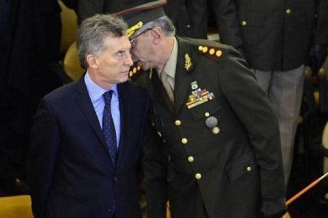 """Macri anunció que los militares """"colaborarán con la Seguridad Interior"""""""