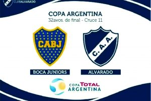 Confirmado: Alvarado-Boca se juega en Lanús