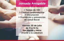 """El viernes se realizará una nueva """"Jornada Amigable"""" frente a la Catedral"""