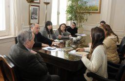 Tandil: Lunghi se reunió con la jefa de Infraestructura Urbana de la nación