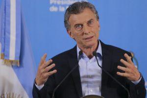 """Mauricio Macri: """"La inflación va a bajar más de diez puntos el año que viene"""""""