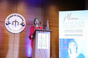 Marina Sánchez Herrero oficializó su candidaturaalConsejo de la Magistratura Nacional