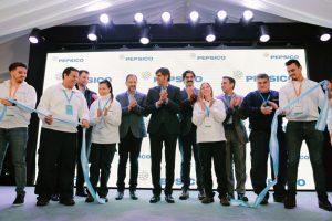 PepsiCo inauguró la ampliación de su planta, con una inversión superior a los 28 millones de dólares