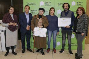 Artistas locales fueron distinguidos en la Casa de Mar del Plata