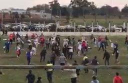 Batalla campal y robo de copa en la final de los Equipos Unidos de Mar Chiquita
