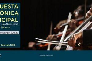 Este sábado la Orquesta Sinfónica Municipal en el Roxy
