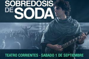 Sobredosis de Soda se presentará en Mar del Plata