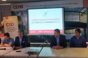 El Municipio presentó la Campaña de Vacunación contra el Sarampión y la Rubéola