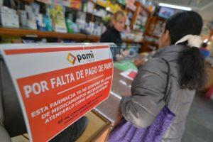 Por atrasos en el pago del PAMI, las farmacias de la Provincia no darán medicamentos a los jubilados