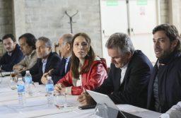 Vidal llevó a su Gabinete a Bahía Blanca con agenda focalizada en Presupuesto 2019