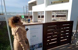 Construcción polémica en Playa Grande: La edil Angélica González apuntó contra el Secretario de Obras