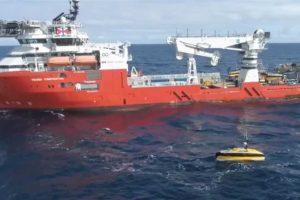 ARA San Juan: el buque noruego chequea dos nuevos contactos sobre la posible ubicación del submarino